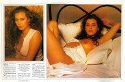 Barbara De Rossi in Playmen IT