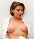 Alyssa Milano nude in Embrace of the Vampire