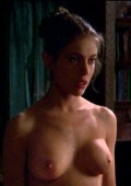 Alyssa Milano nude in Outer Limits, The