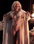 Beautiful nude swimsuit models