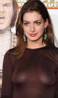 Anne Hathaway in School of Rock Premiere
