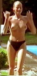 Tits at pool