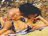 Audrey Tautou nude in Topless sunbathing
