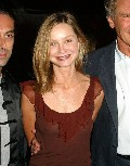 Calista Flockhart in Emanuel Ungaro Fashion Show