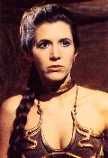 Carrie Fisher in Star Wars: Episode VI - Return of the Jedi