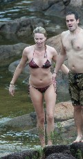 Charlize Theron in bikini