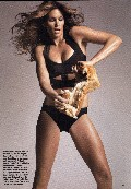 Cindy Crawford in Allure