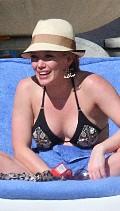 Bikini Black Hilary Duff