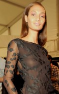 Joan Smalls in Narciso Rodriguez S/S 2011