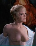 Joey Heatherton nude in Bluebeard