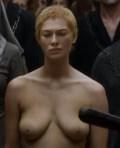 Naked white girl giving blowjob