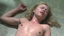 Linnea Quigley nude in Savage Streets