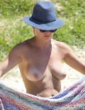 Lisa Clark nude in topless