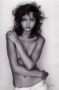 Miranda Kerr nude in Black + White