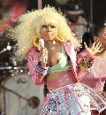 Nicki Minaj nude in Good Morning America