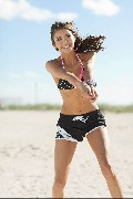 Nina Dobrev in Summer Seventeen Fitness