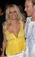 Pamela Anderson in see  through