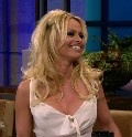 Pamela Anderson in Tonight show with Jay Leno