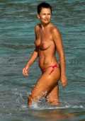 Paulina porizkova topless labour. Absolutely