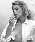 Amber Heard nude in topless photoshoot
