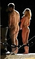Anna Faris nude in On the set of What's My Number