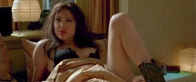 Angelina Jolie nude in Pushing Tin