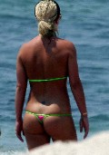 Britney Spears in thong bikini
