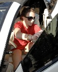 Britney Spears nude in pantiless upskirt