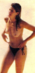 Cindy Crawford nude in Topless swimming