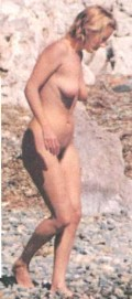 Emma Thompson nude in nude swimming