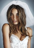 "Lily Aldridge in Victoria's Secret ""Sexy Little Bride"""