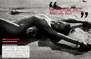 Miranda Kerr nude in Vogue IT