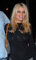 Jessica Simpson in see through