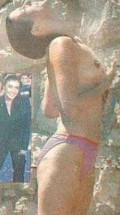 More Pictures Of Kym Marsh Nude From Topless Swimming