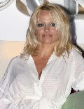 Pamela Anderson in Grand Prix party