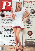 Sarah Michelle Gellar in P Magazine  BE