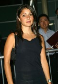 Shiri Appleby in The Dangerous Lives of Altar Boys Premiere