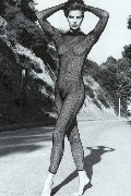 Terry Farrell nude in Man magazine (Spain)