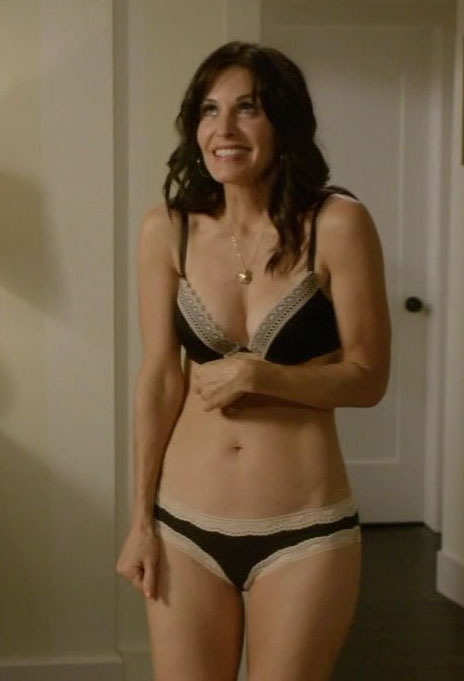 Agree, amusing Courteney cox cougar town fake porn not