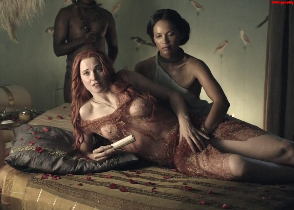 And sex blood spartacus