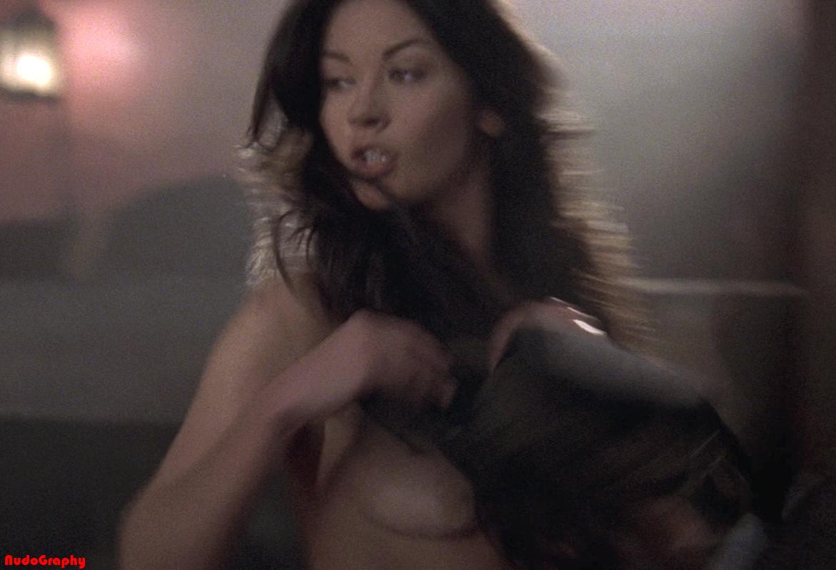 Has Catherine Zeta-Jones ever been nude?
