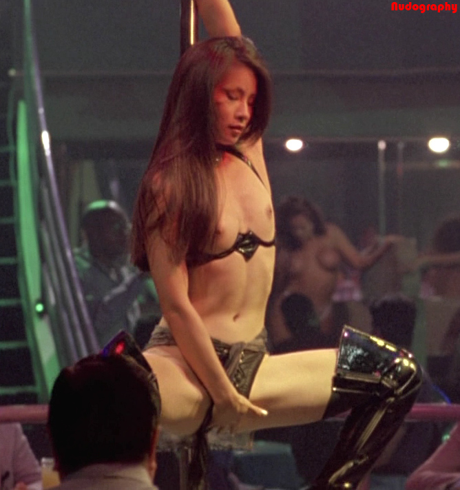 Naked Lucy Liu in City of Industry ANCENSORED