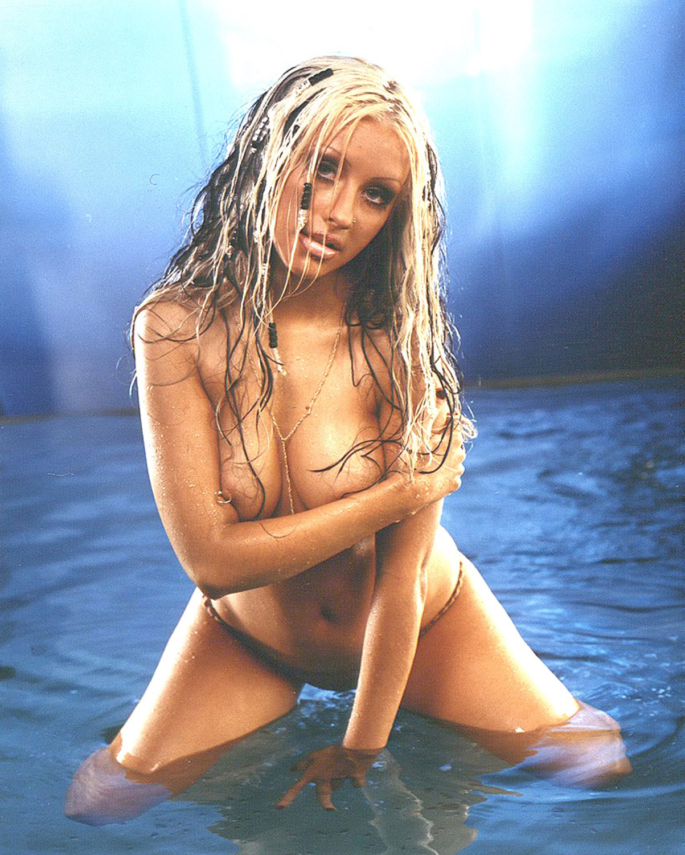 naked Christina pics agulera