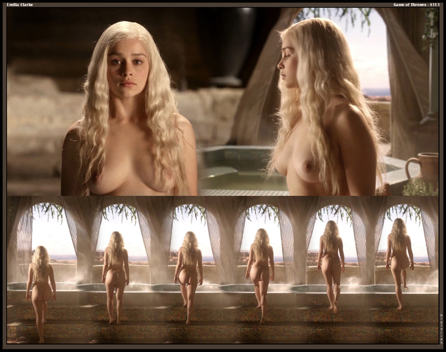 Emilia clarke games of thrones 3