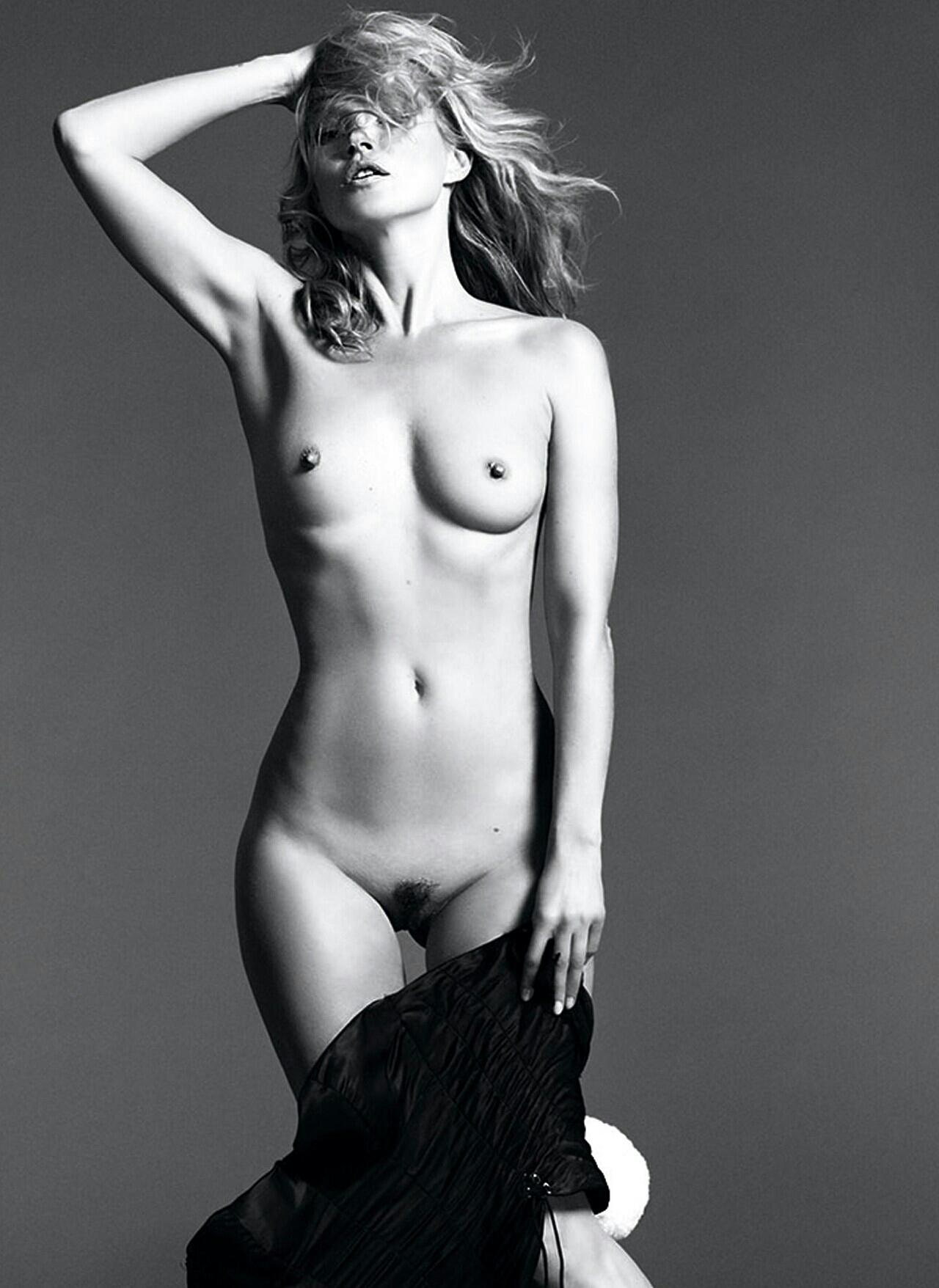 Kate Moss nackt: P wie Playboy, Pete, oder