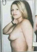 Naked Jade goody strip something