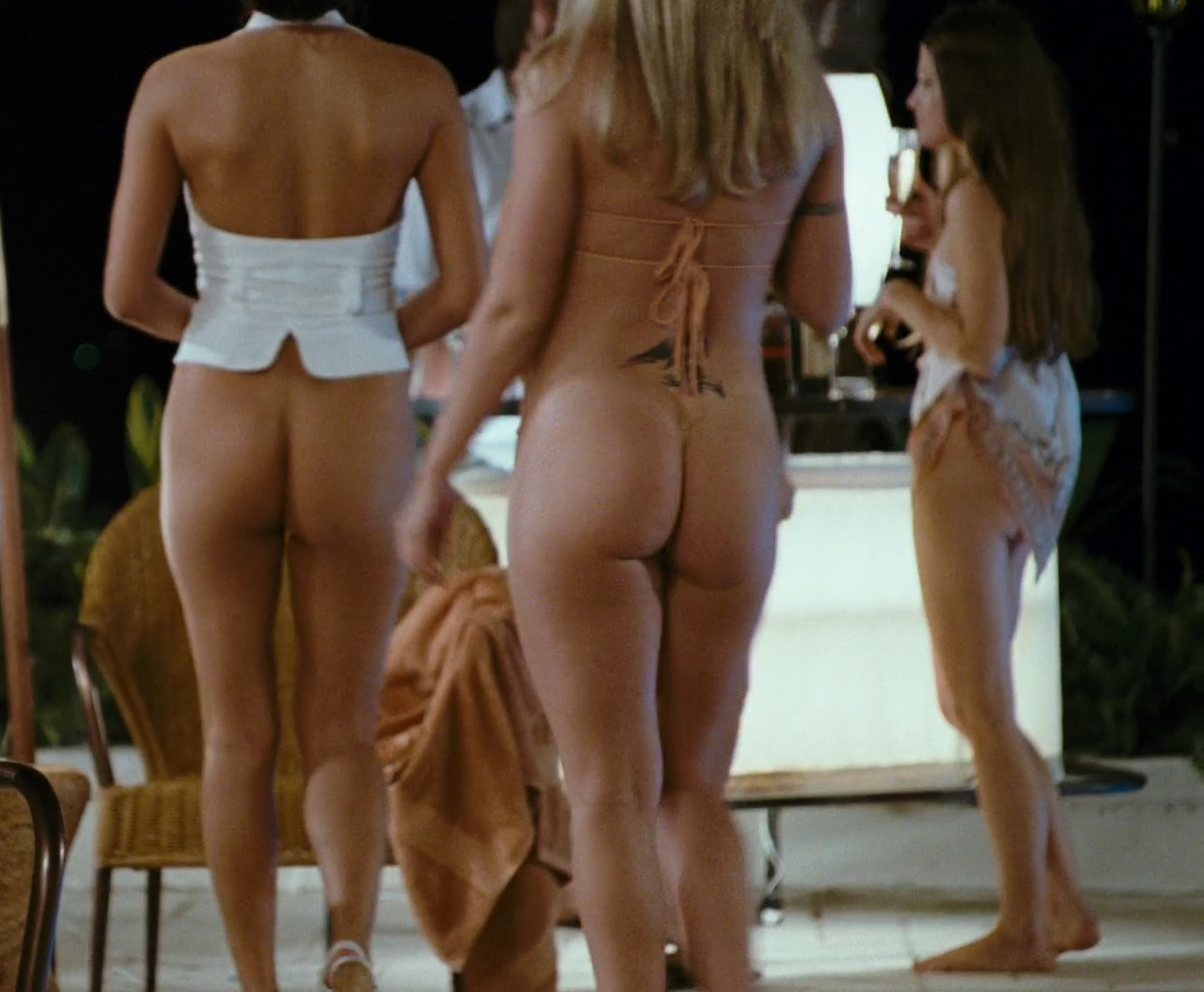bottomless party nude